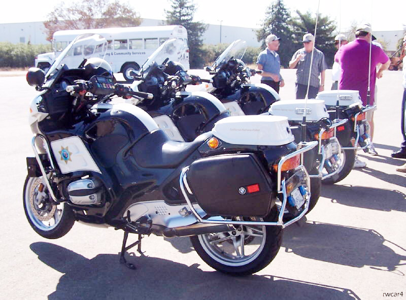 California police motorcycle image