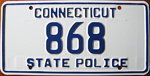Connecticut license plate image