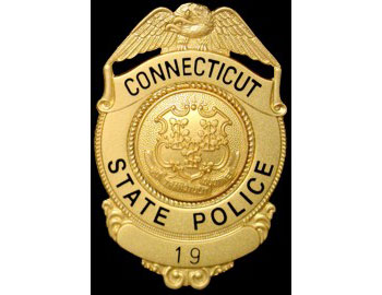 Connecticut police badge image