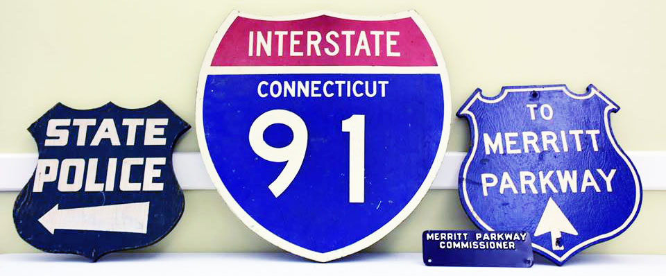Connecticut police signs