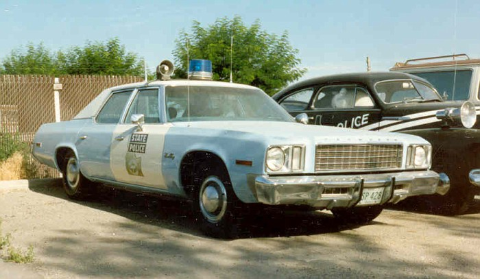 Idaho state police car